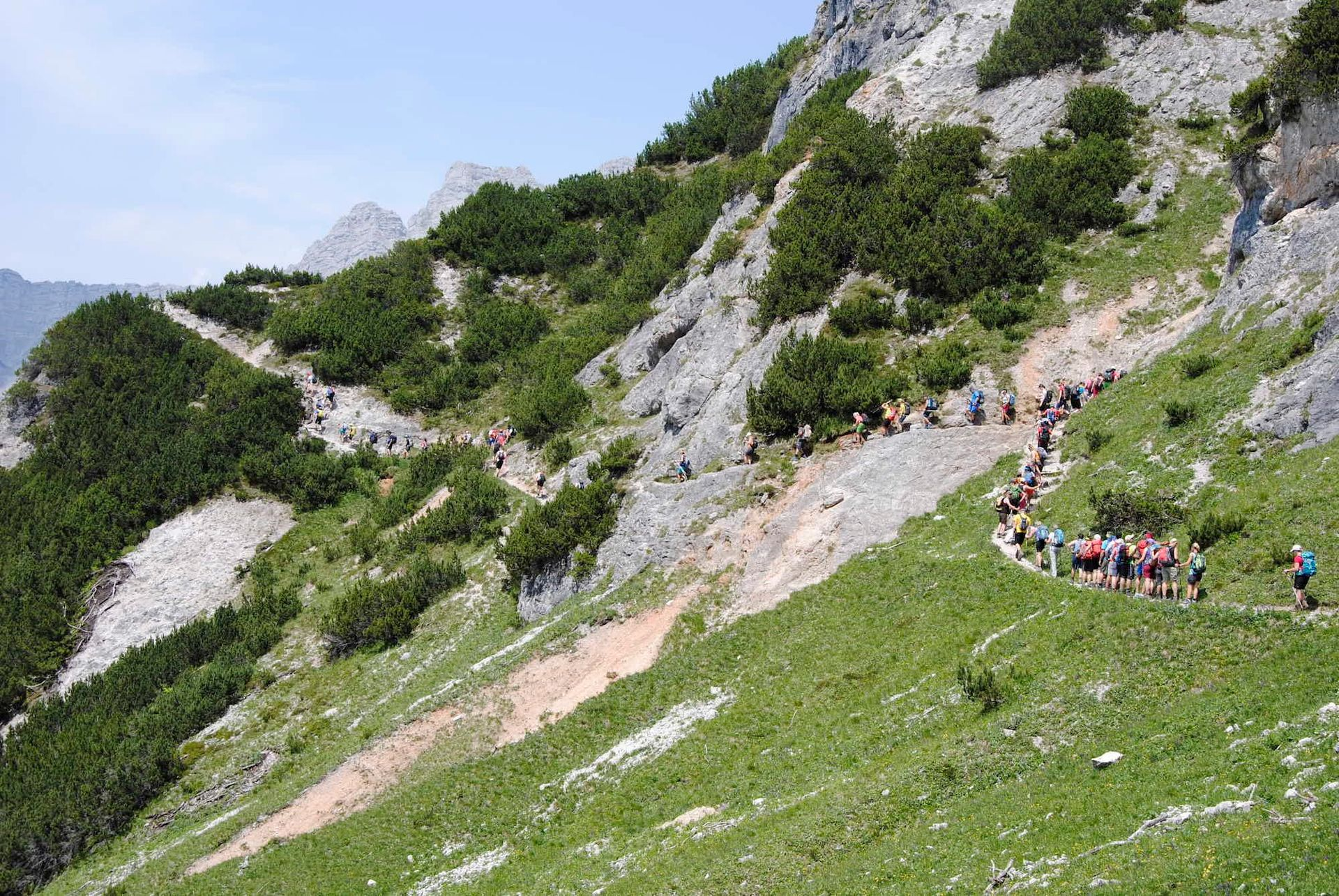 Stoabergmarsch – 24 Stunden Wandern in Tirol und Salzburg