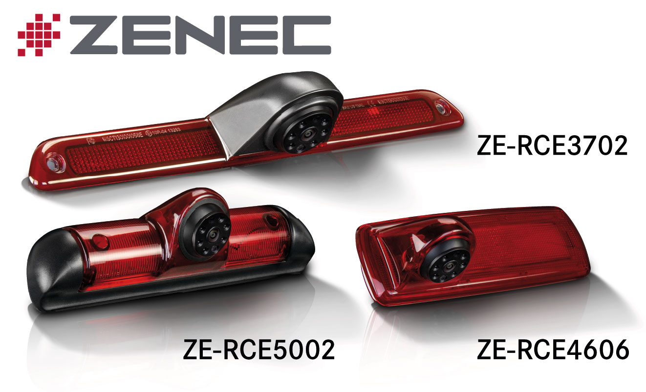 Parking Assistants for Motorhomes: ZENEC's New Rear View Cams