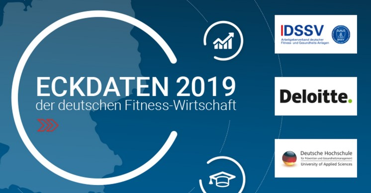 Eckdaten der deutschen Fitness-Wirtschaft 2019