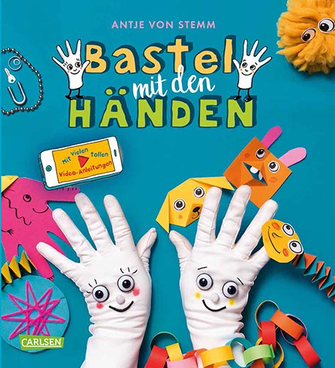 Bastel mit den Händen: Ideen für Kinder im Vorschulalter