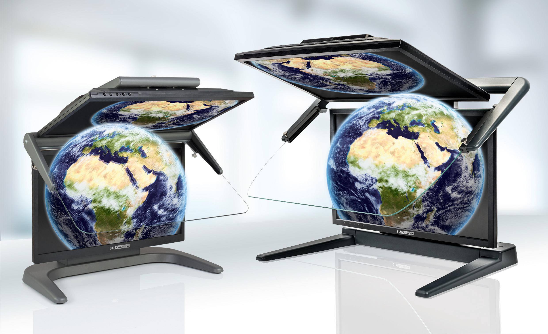 3D PluraView Monitor Produktfamilie erweitert –