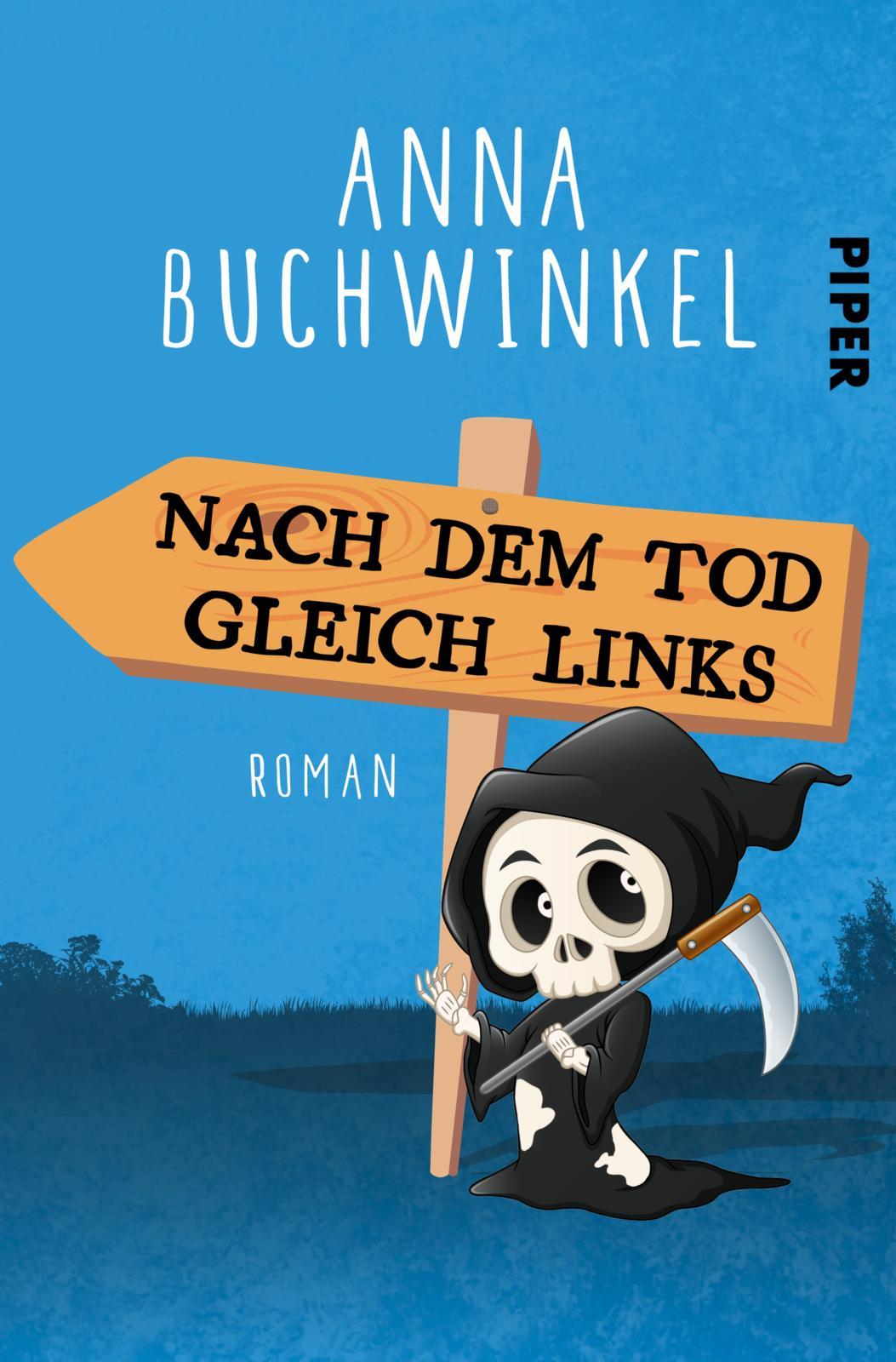 Mainzer Autorin Anna Buchwinkel nimmt den Tod auf die Schippe