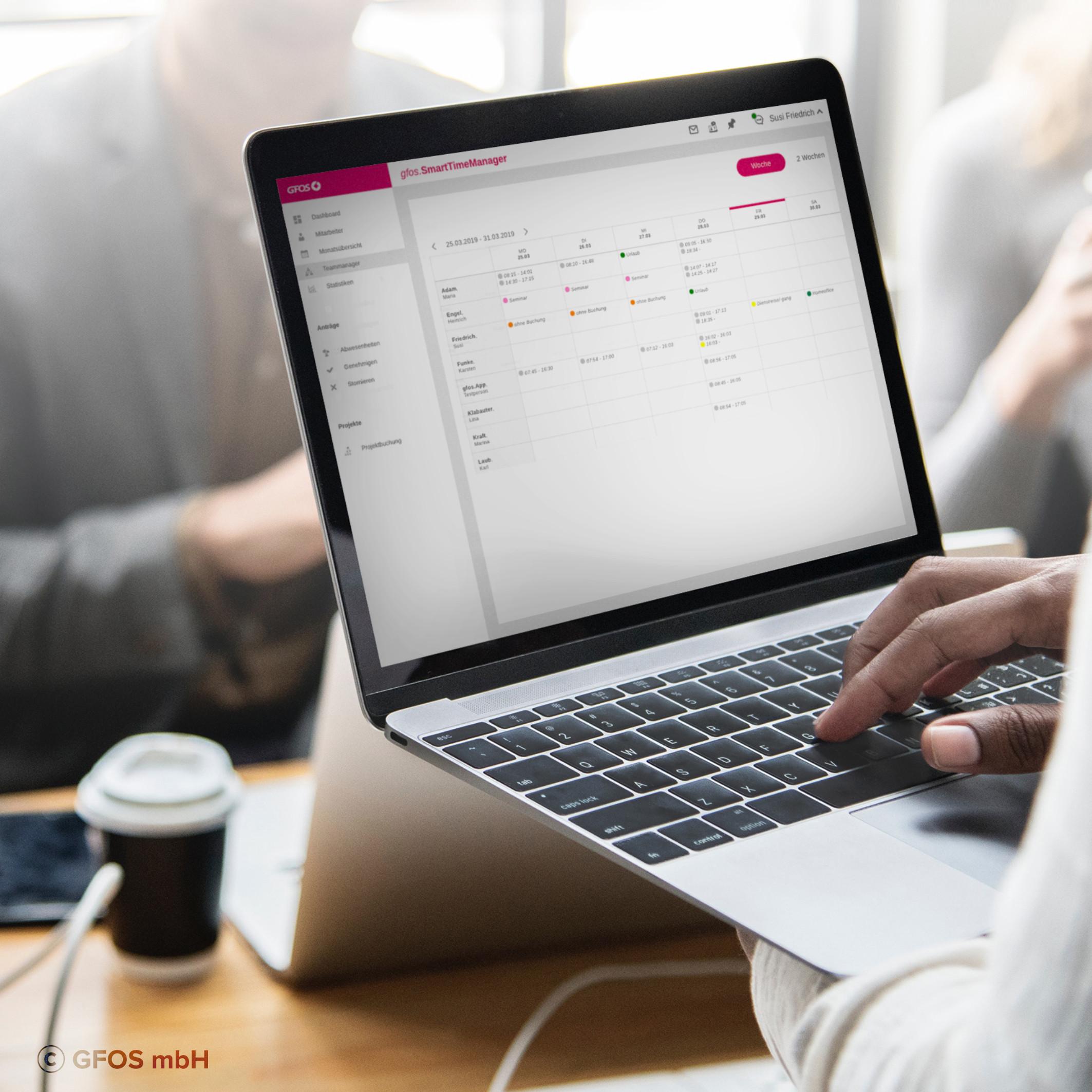 Digitale Zeiterfassung für Mittelstand und Kleinbetriebe
