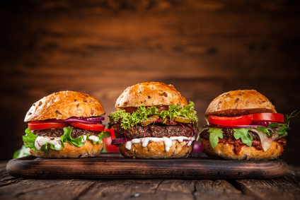 Moderne Verpackungen und innovative Ideen für den Burgerverkauf