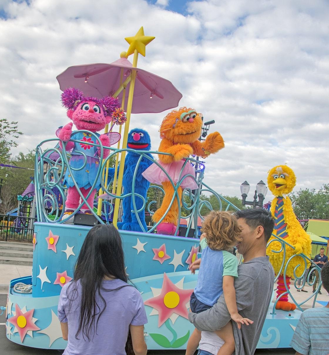 Sesamstraße In Seaworld Orlando Eröffnet Elmo Krümelmonster Und