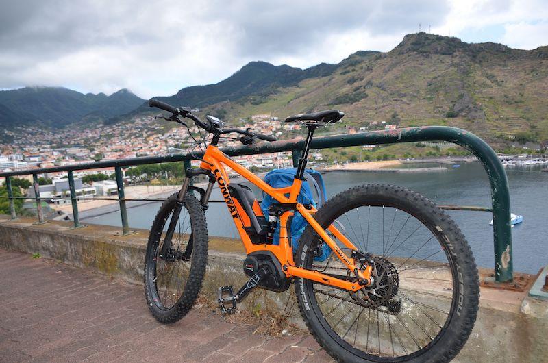 Madeiras Traumlandschaften auf dem E-Bike
