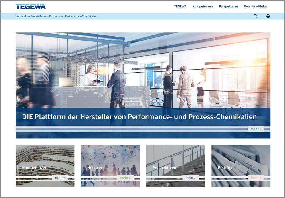 formativ.net Internetagentur erstellt neue Internetseite für TEGEWA