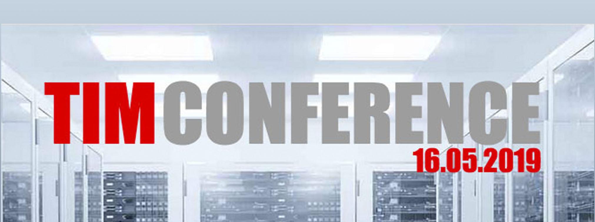 TIM Conference im RMCC am 16. Mai 2019