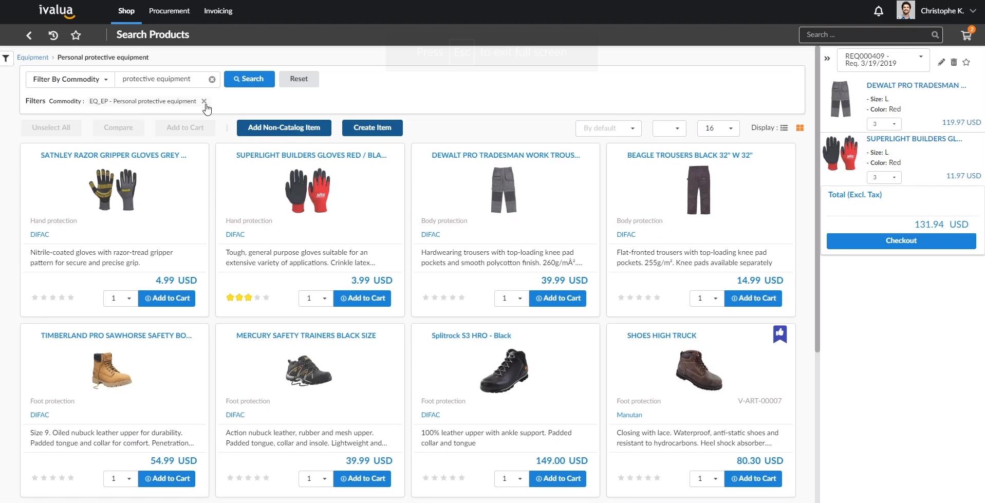 Ivalua kündigt Search360 mit modernsten katalogübergreifenden E-Procurement-Funktionen an