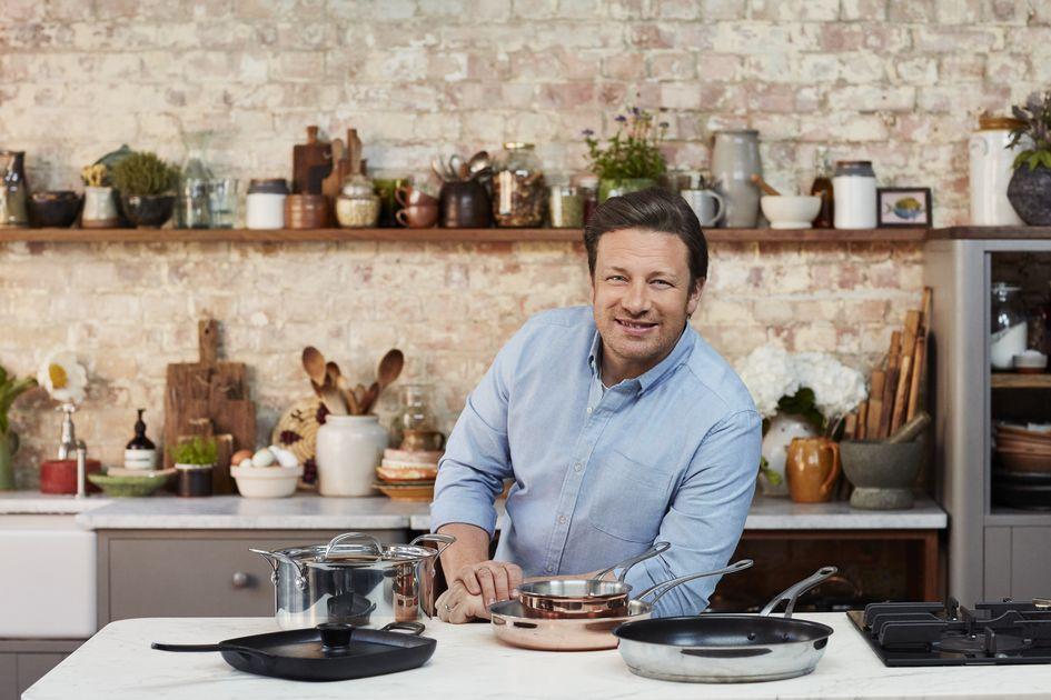 NEU: Jamie Oliver Gusseisen-Grillpfanne von TEFAL für Barbecue-Fans