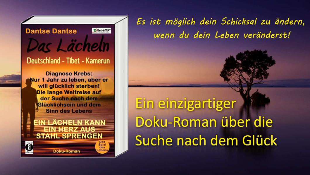 Buchvorstellung: Das Lächeln – ergreifender Doku-Roman von Dantse Dantse (indayi edition)