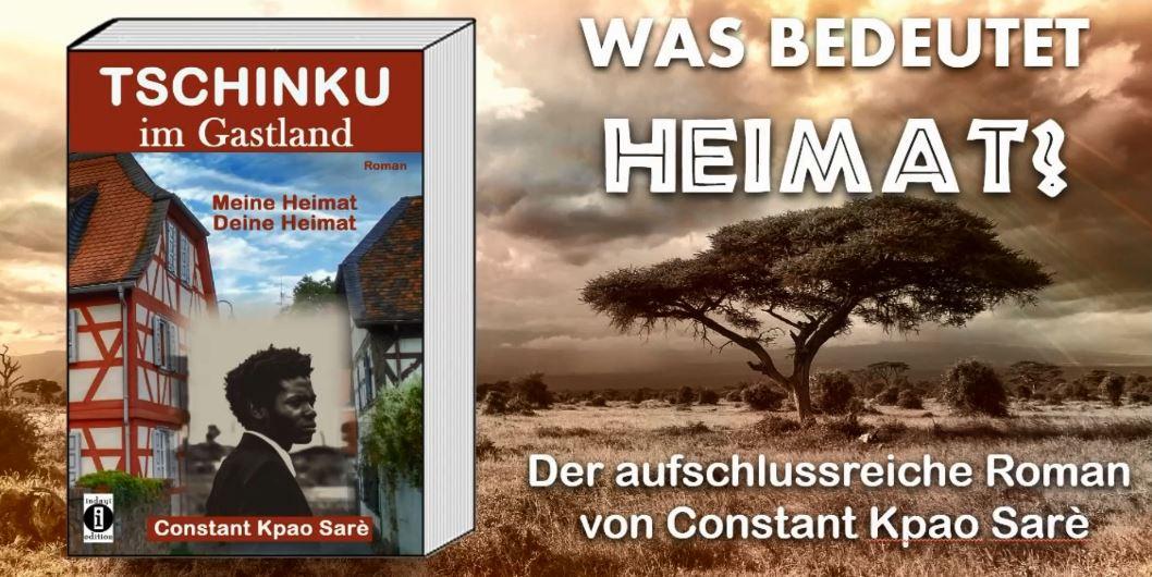 """Hörprobe: Deutsch-Afrikaner über Heimat und Zugehörigkeit – """"Tschinku im Gastland"""" von Constant Kpao Sarè (indayi edition)"""