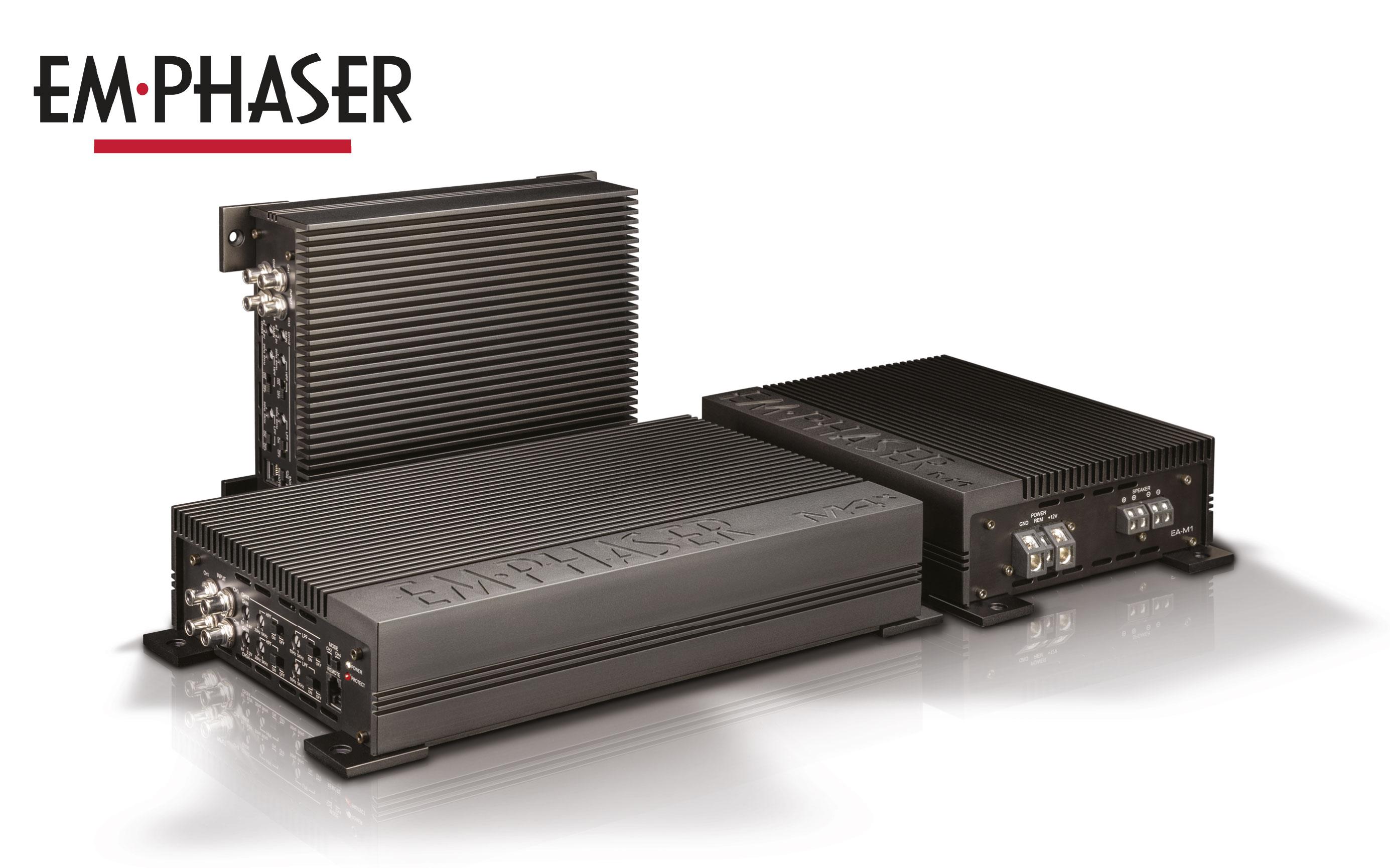 Digitale Spitzenverstärker – EMPHASERs Monolith Endstufen