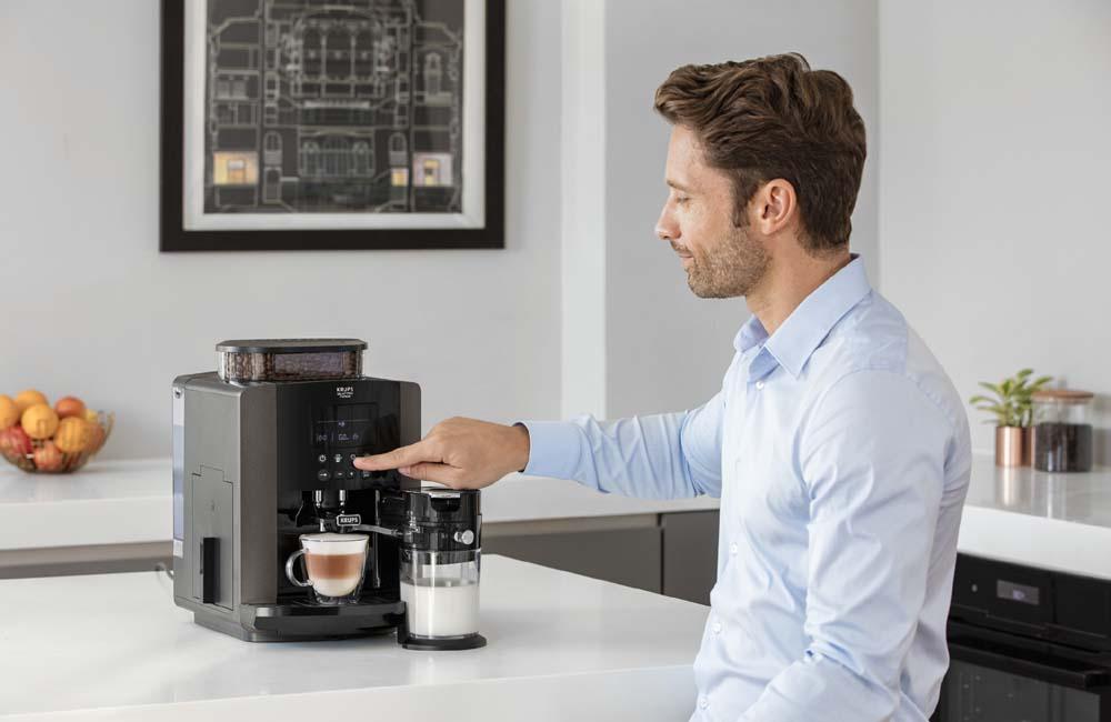 NEU: One-Touch-Cappuccino-Vollautomat Krups Arabica Latte