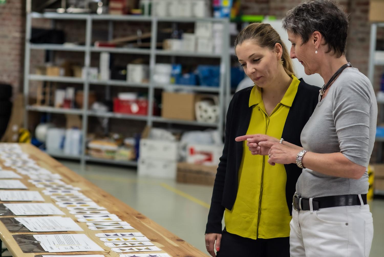 Kooperation BTZ Krefeld mit Birgit Krüger für die Logistik