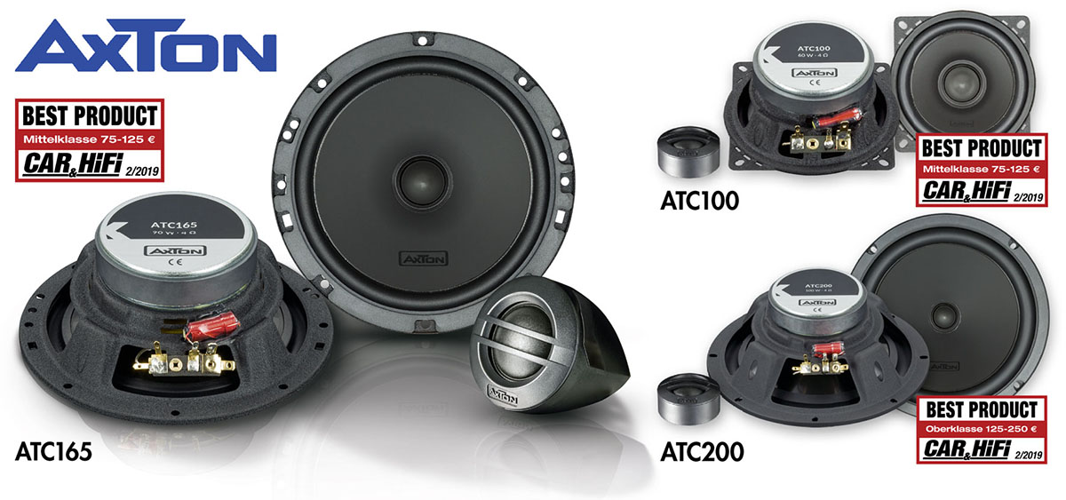3 x Best Product: AXTON's ATC Components Tested
