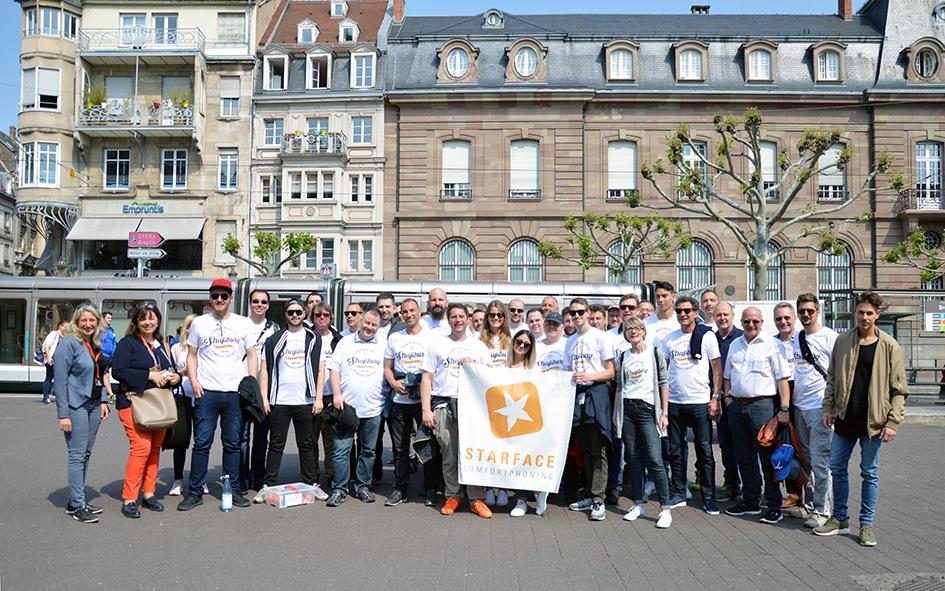 STARFACE reist mit den 41 Top-Partnern zum Schlemmerwochenende nach Straßburg