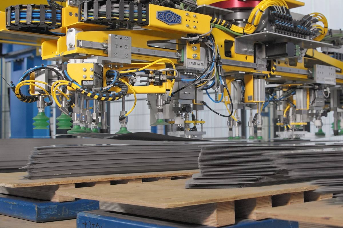 Inline and offline stacking systems use the potential of digitalization