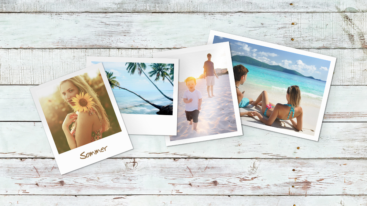 Sommer, Sonne, Urlaubszeit mit Fotogeschenken von fotoCharly