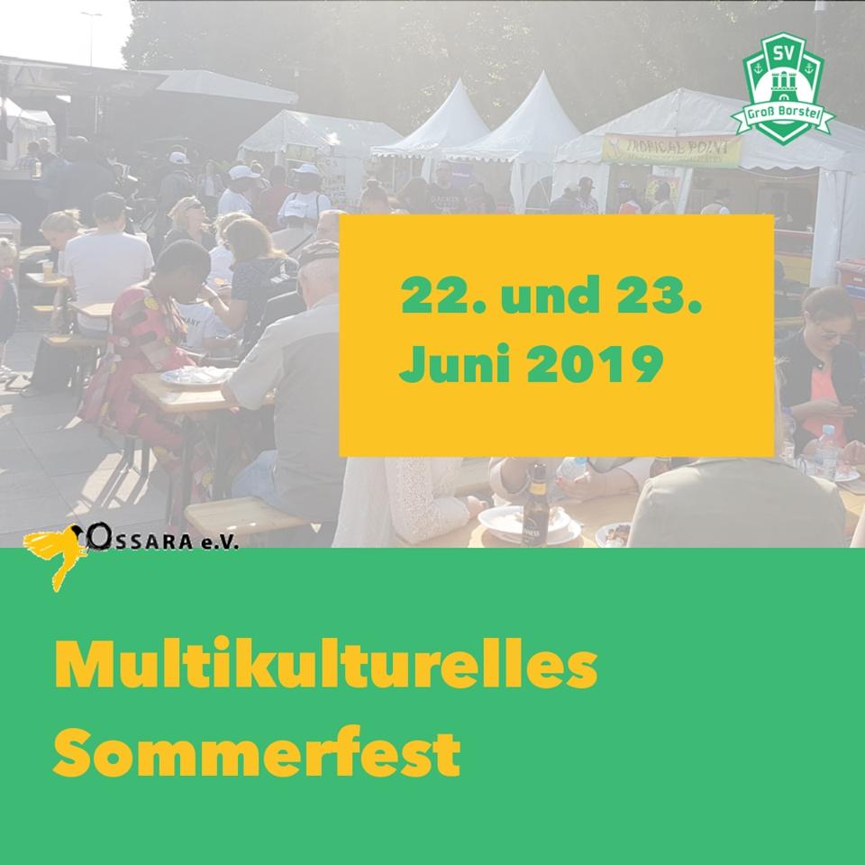 Multikulturelles Sommerfest – Sport und Integration-