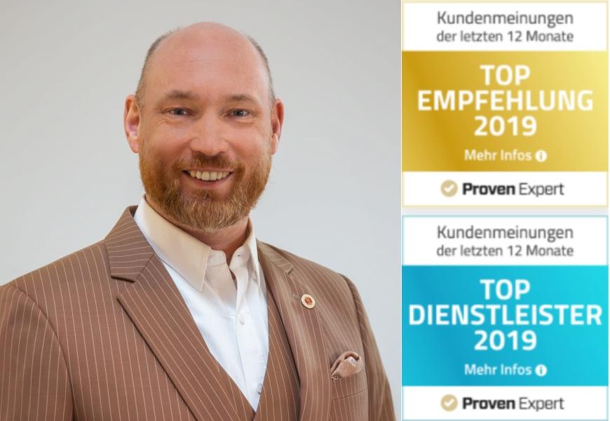 BNI-Hannover von ProvenExpert gleich zweimal ausgezeichnet