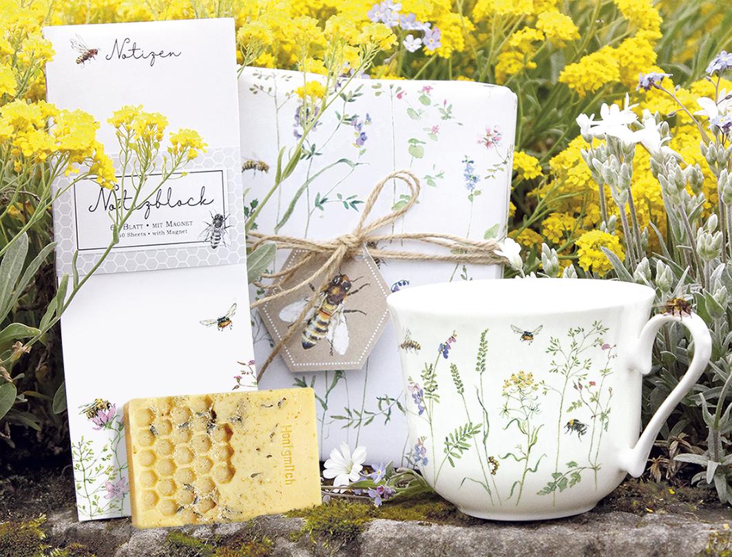 Grätz Verlag unterstützt Wildbienen mit neuer Kollektion von Daniela Drescher