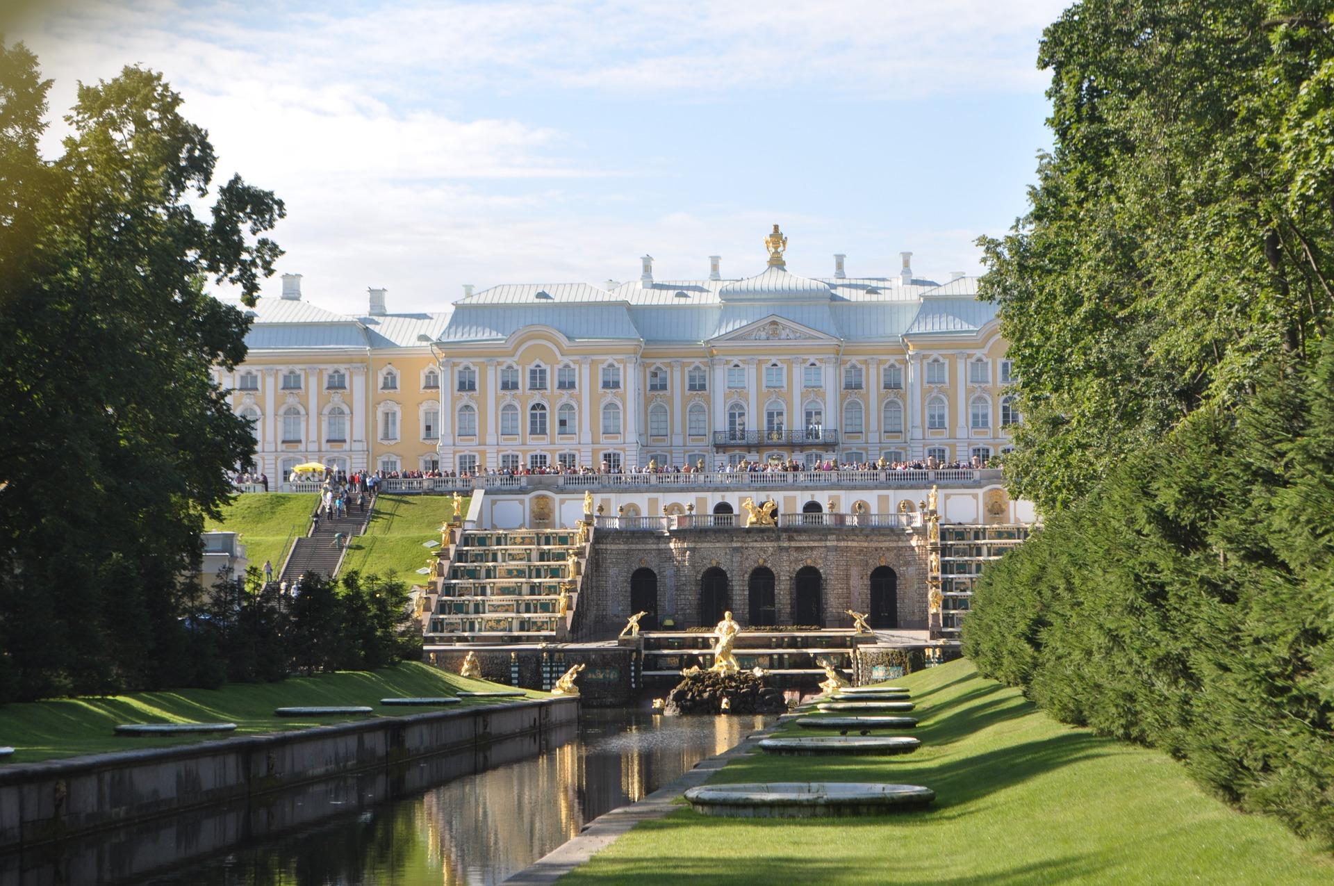 Russland Palast Tourist