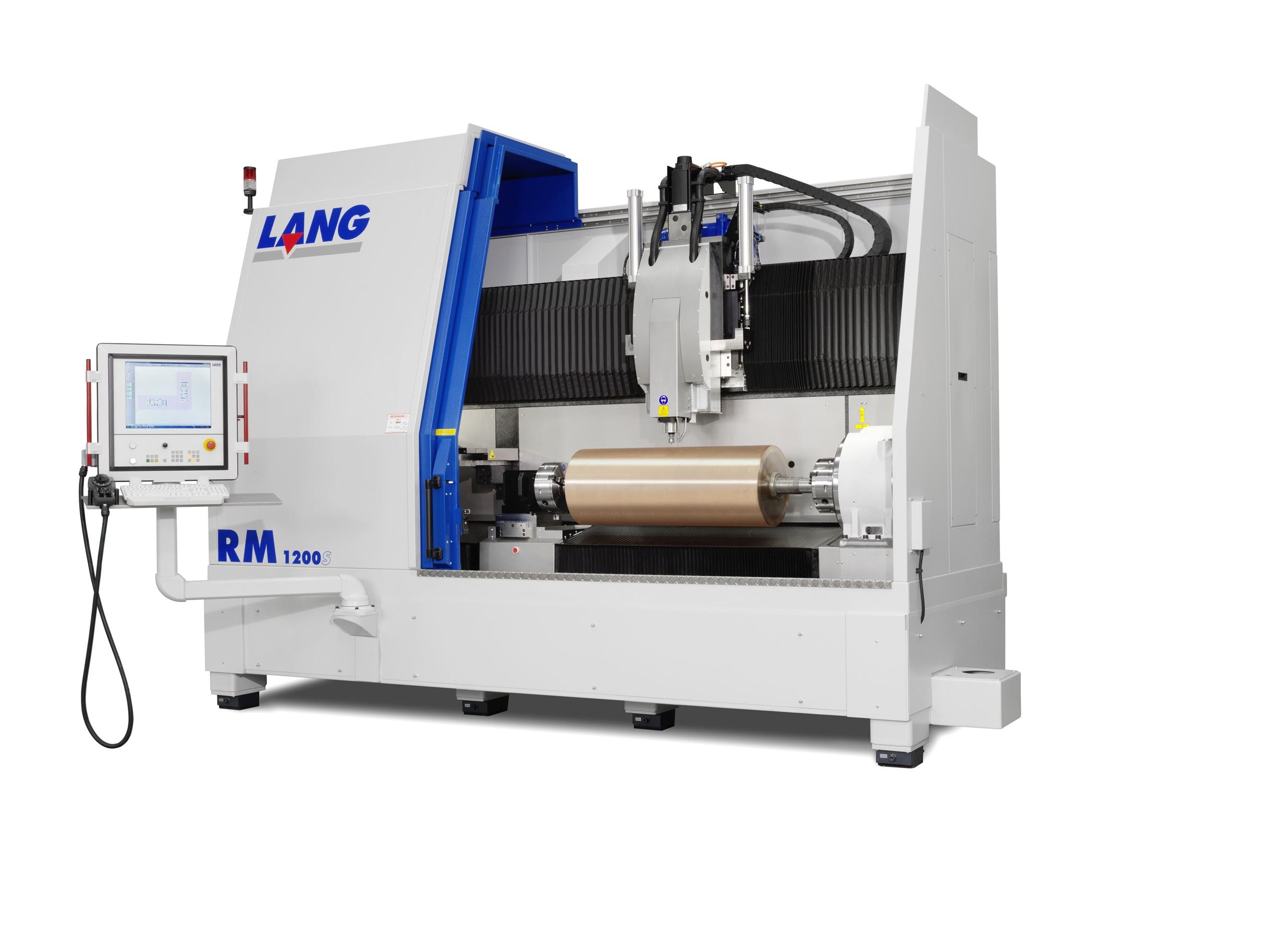RM-Serie von LANG: Fräsmaschinen für kürzere Produktions- und Lieferzeiten von Zylindern