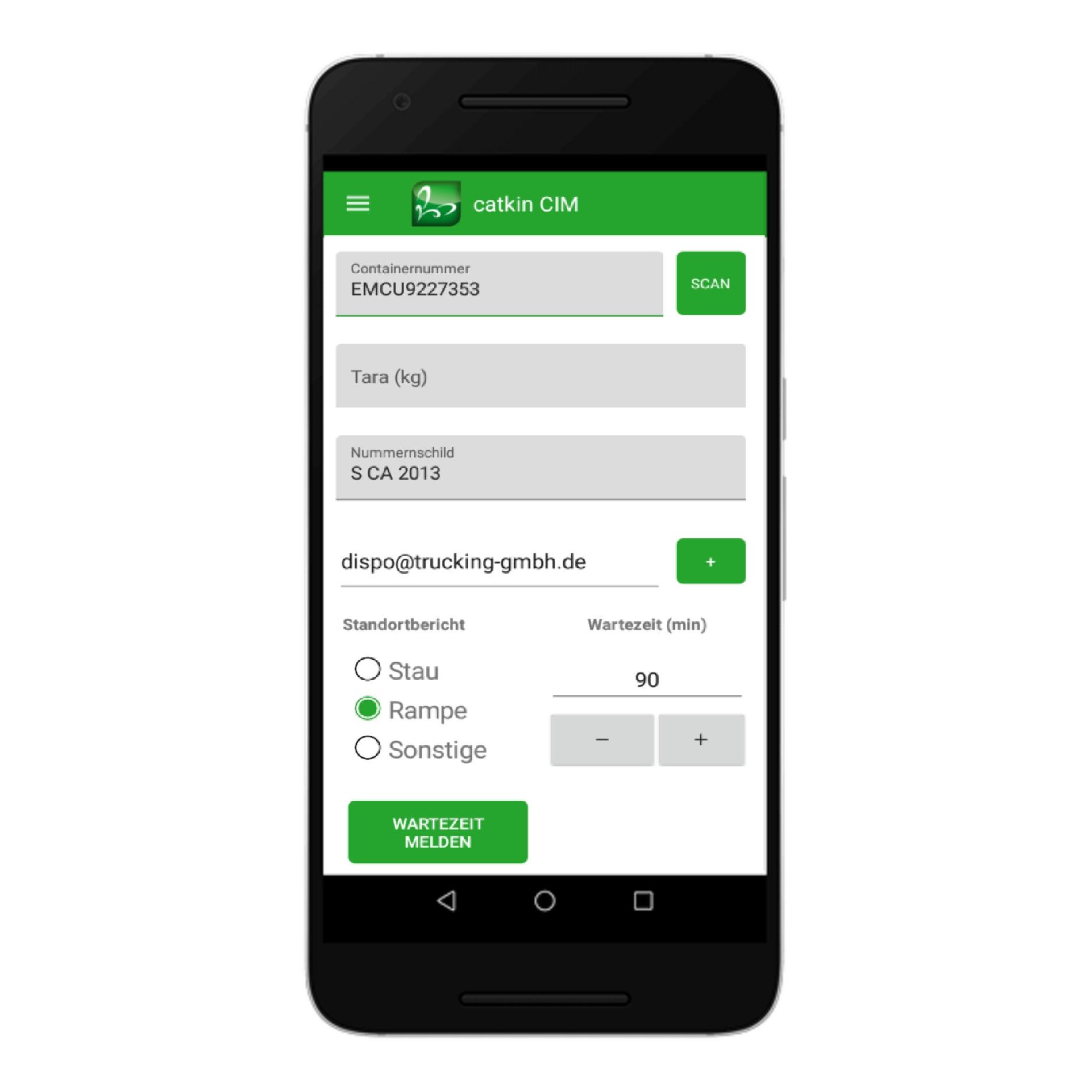 Neue catkin App bringt schnell Mehrwert für Containertrucker