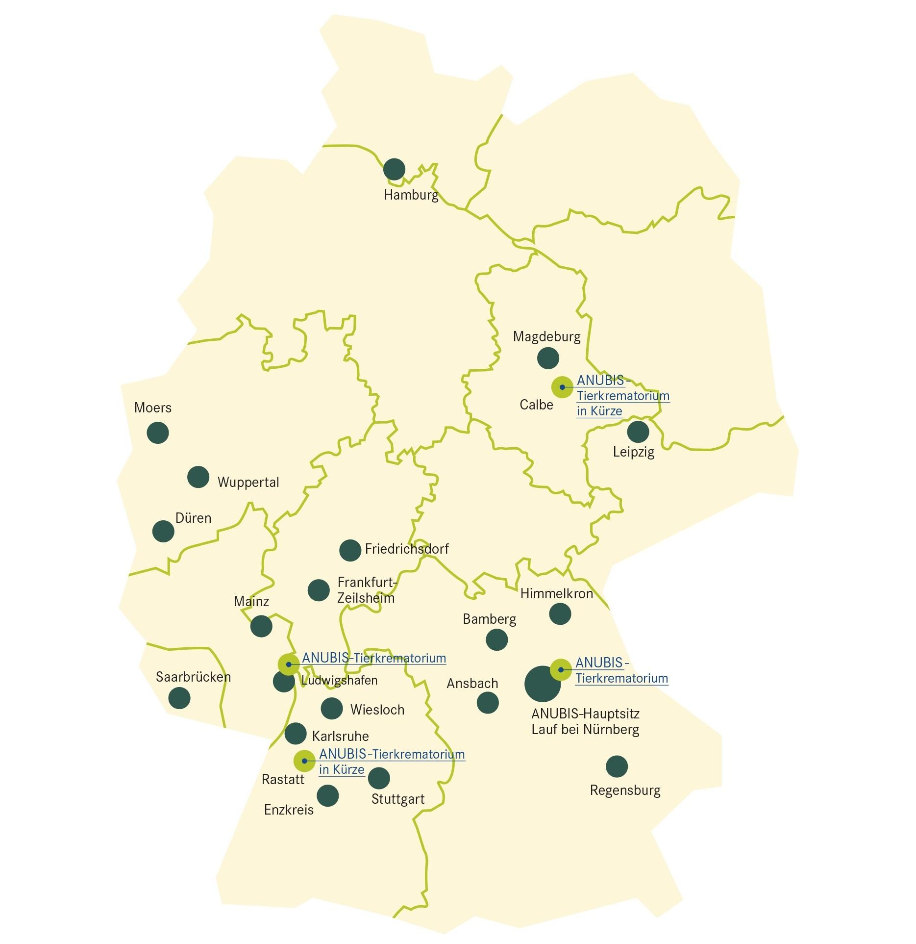 ANUBIS-Tierbestattungen ist Branchensieger im aktuellen Deutschland Test