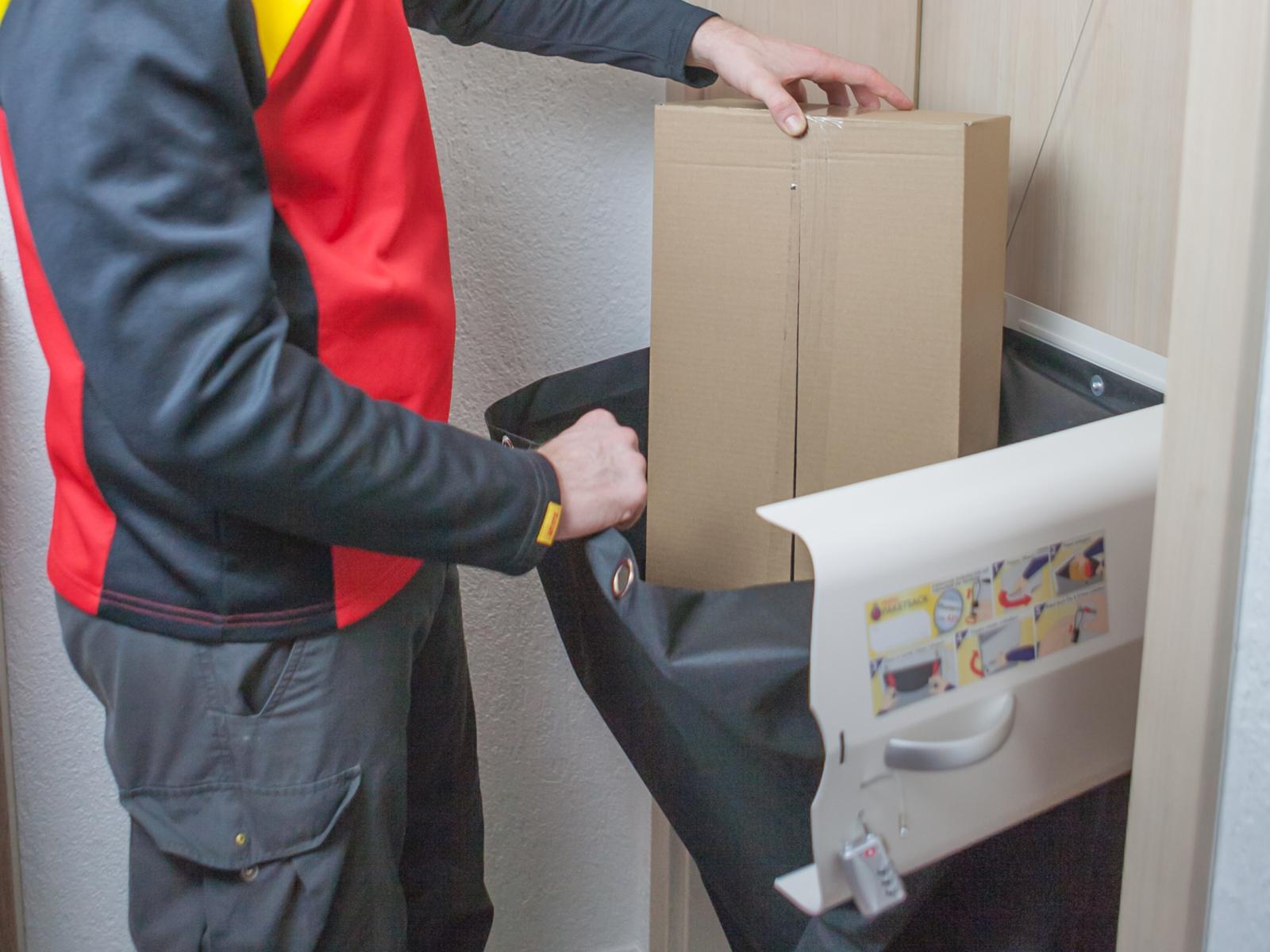 meinPAKETSACK – Die Paketstation für Zuhause