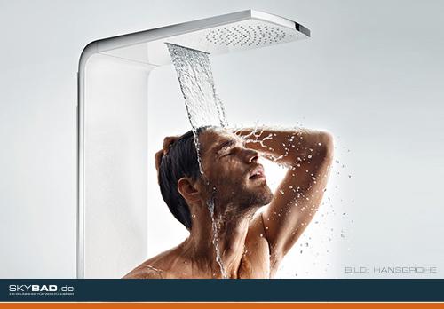 Welche Dusche ist die Richtige?
