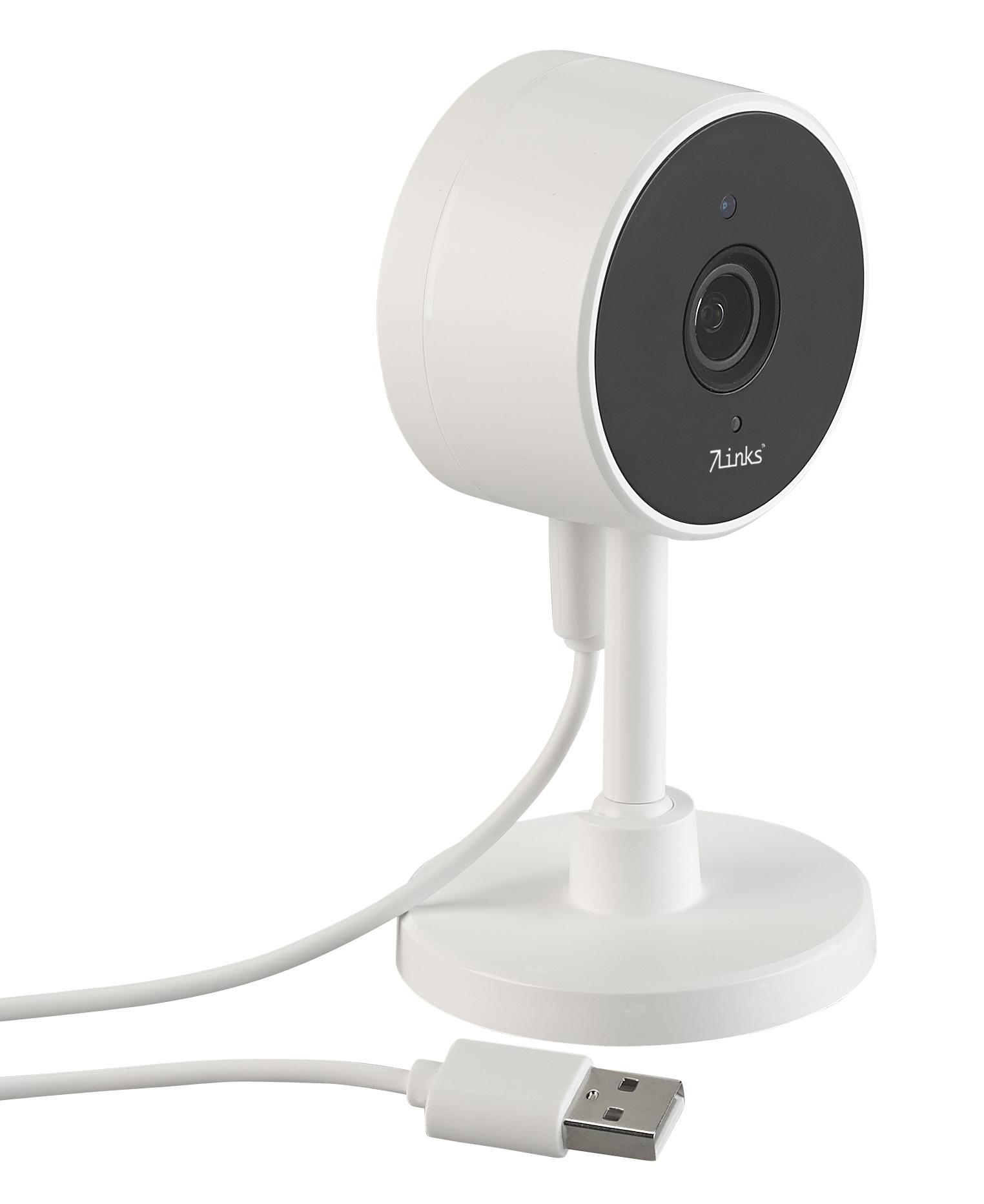 7links Full-HD-IP-Kamera IPC-295.fhd mit PIR-Sensor