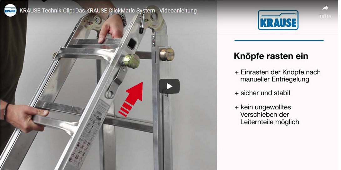 Das KRAUSE ClickMatic-System