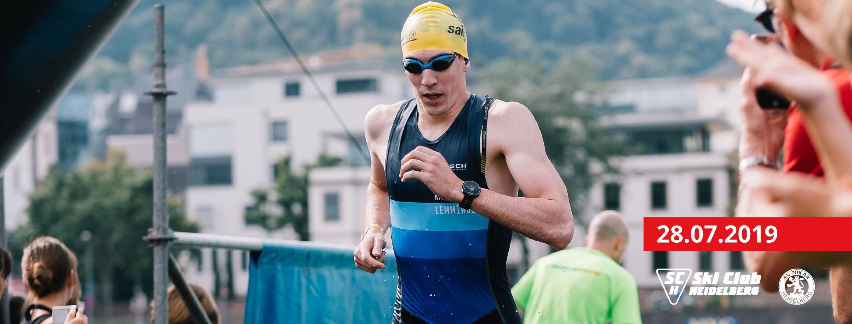 1.200 Triathleten starten beim HeidelbergMan 2019 / Ironman-Weltmeister Sebastian Kienle am Start