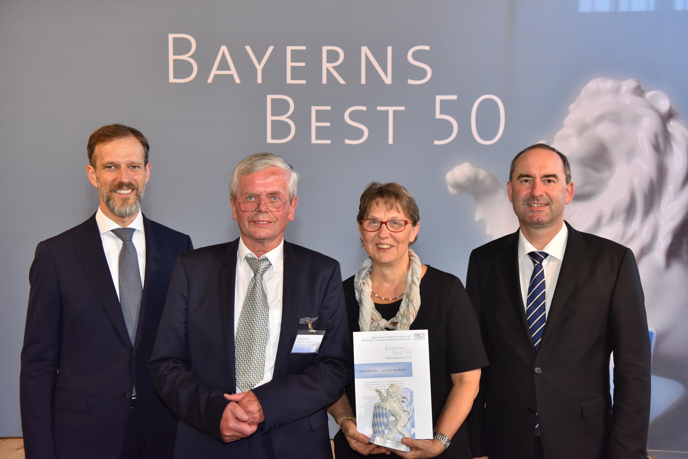 Luitpold Apotheke gehört zu BAYERNS BEST 50