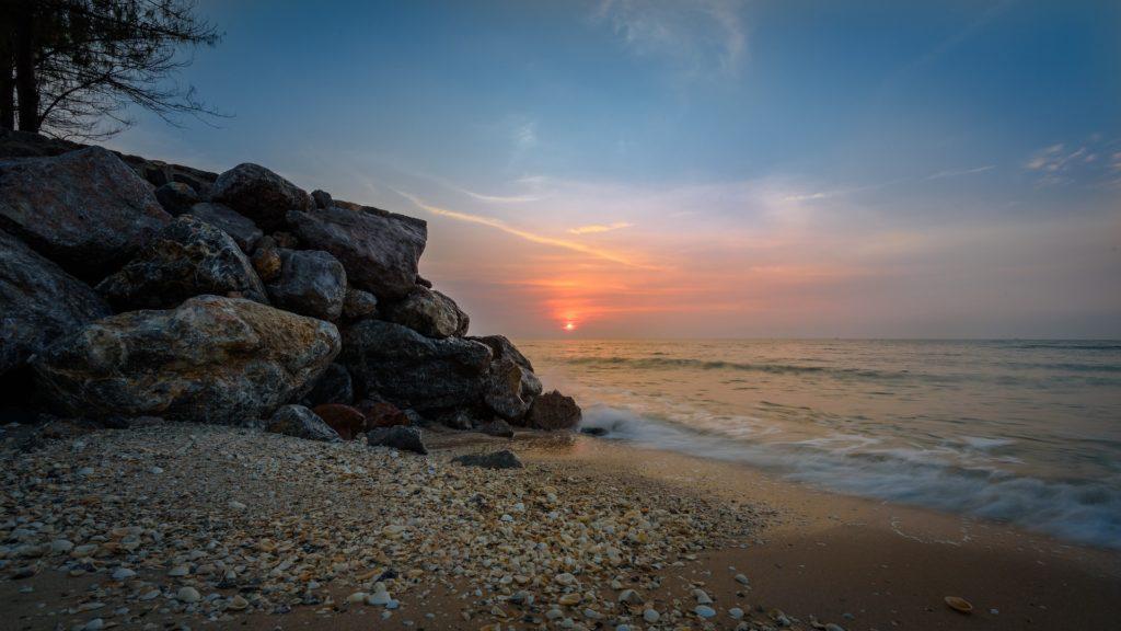 Sonnenuntergang Thailand mit Visum erleben