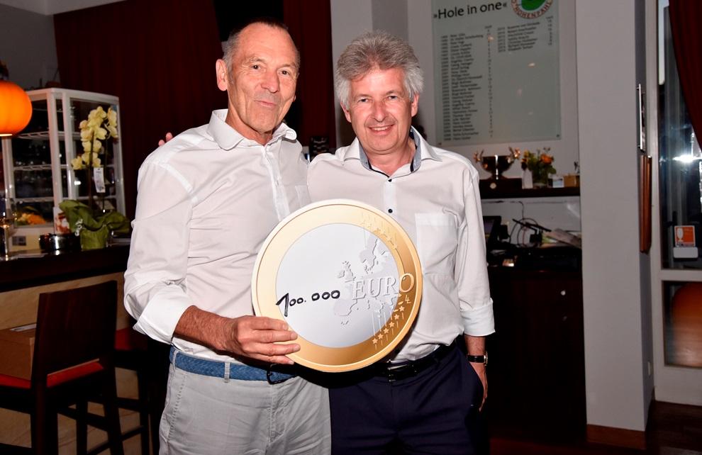 100.000 Euro Spendenrekord bei der 13. INITIATIVE DO IT Golf Charity
