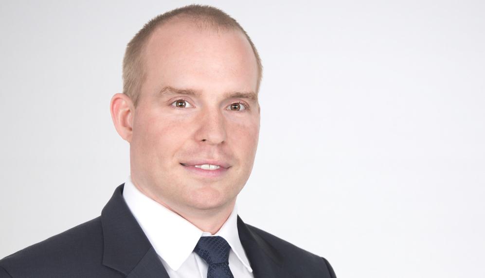 Dominic Rompf, neuer Vorstand bei Hüttig & Rompf