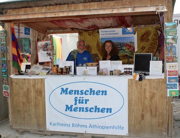 Großes Engagement für Karlheinz Böhms Äthiopienhilfe