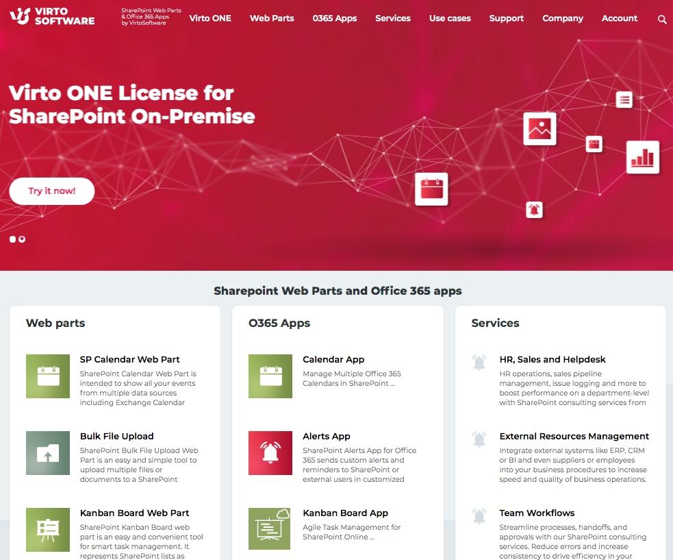 VirtoSoftware hat die neue Website und CRM entwickelt