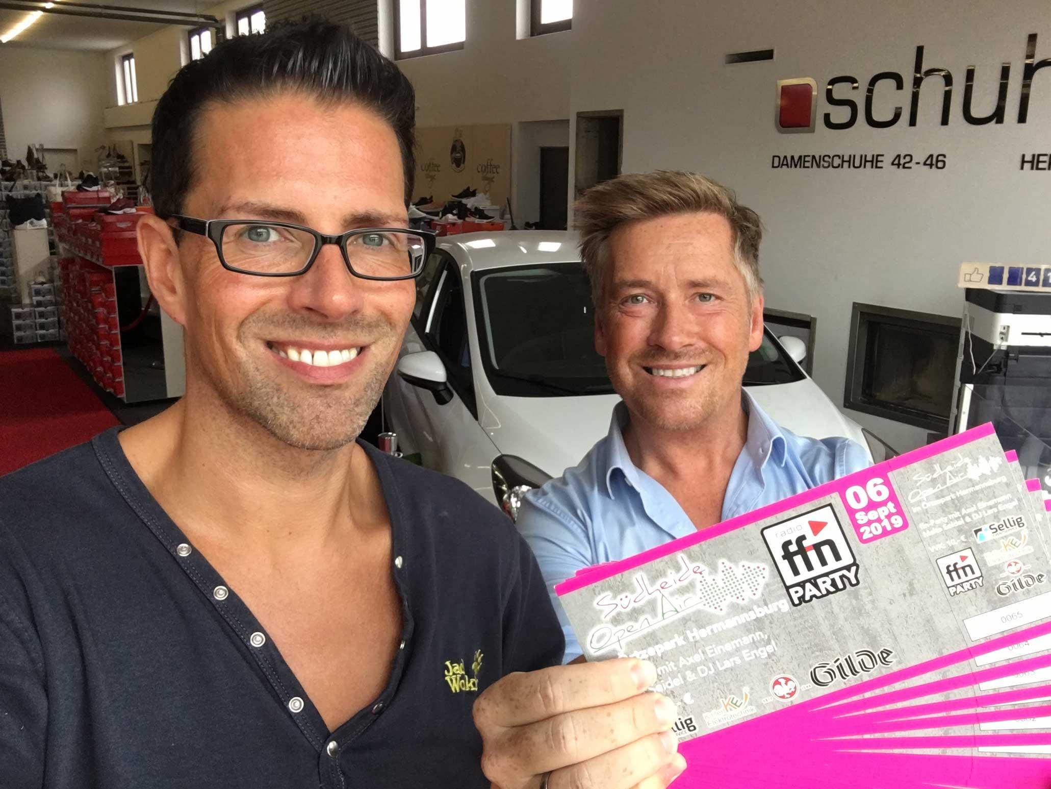 Übergrößenhändler verlost Freikarten für die FFN-Party beim Südheide Open Air