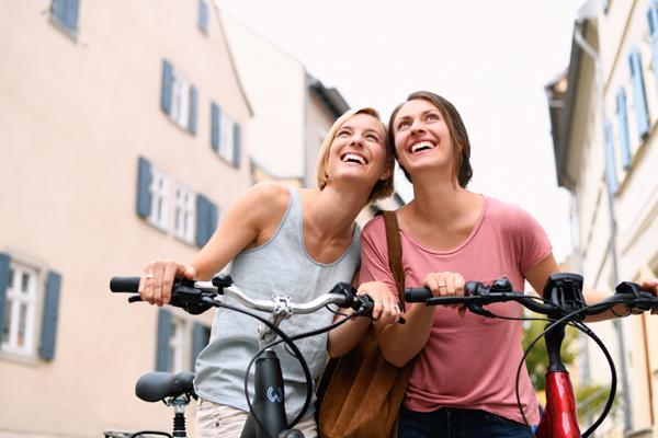 Zehn Gründe, warum Radfahren gesund macht