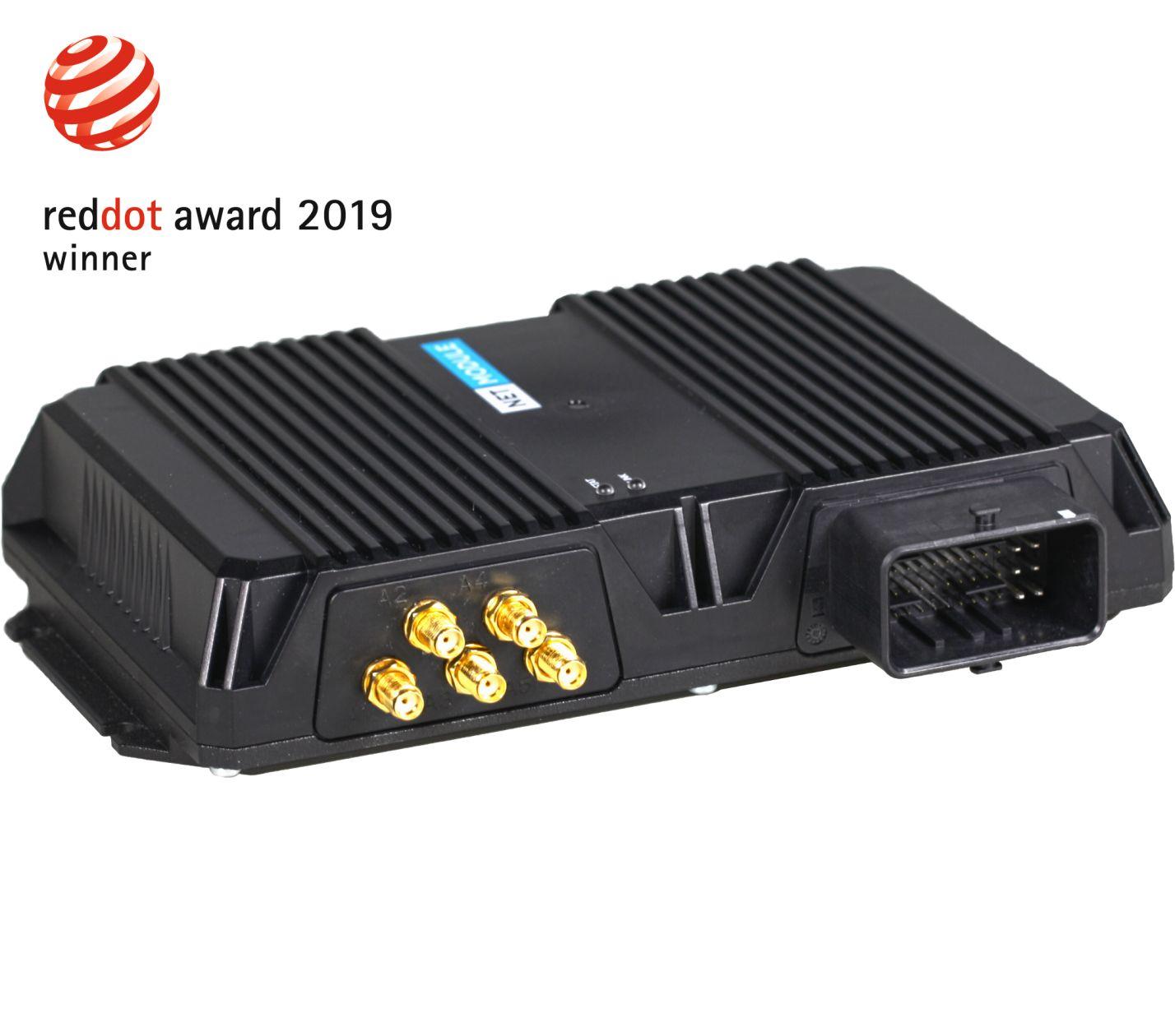 NetModule gewinnt Red Dot Award: Product Design 2019