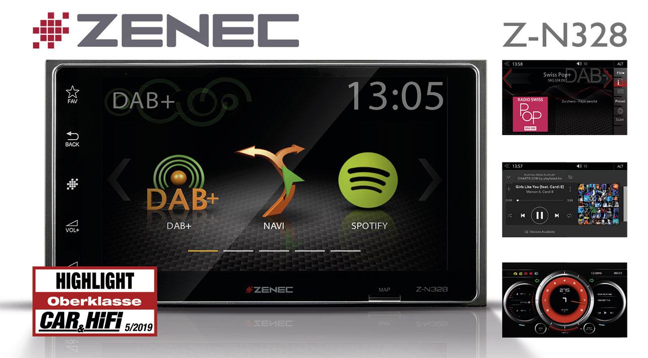 Smarter Infotainer: ZENECs Z-N328 überzeugt im Test