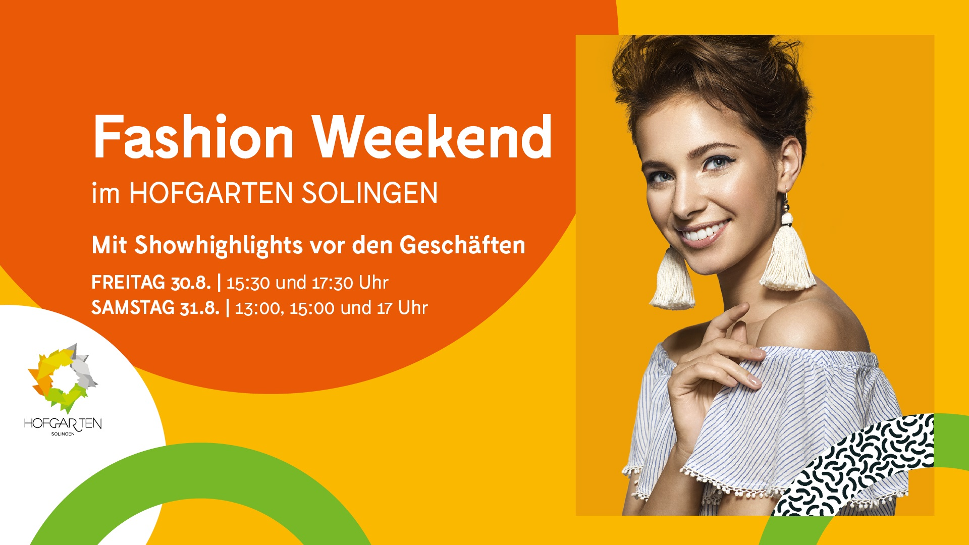 Fashion Weekend im HOFGARTEN SOLINGEN