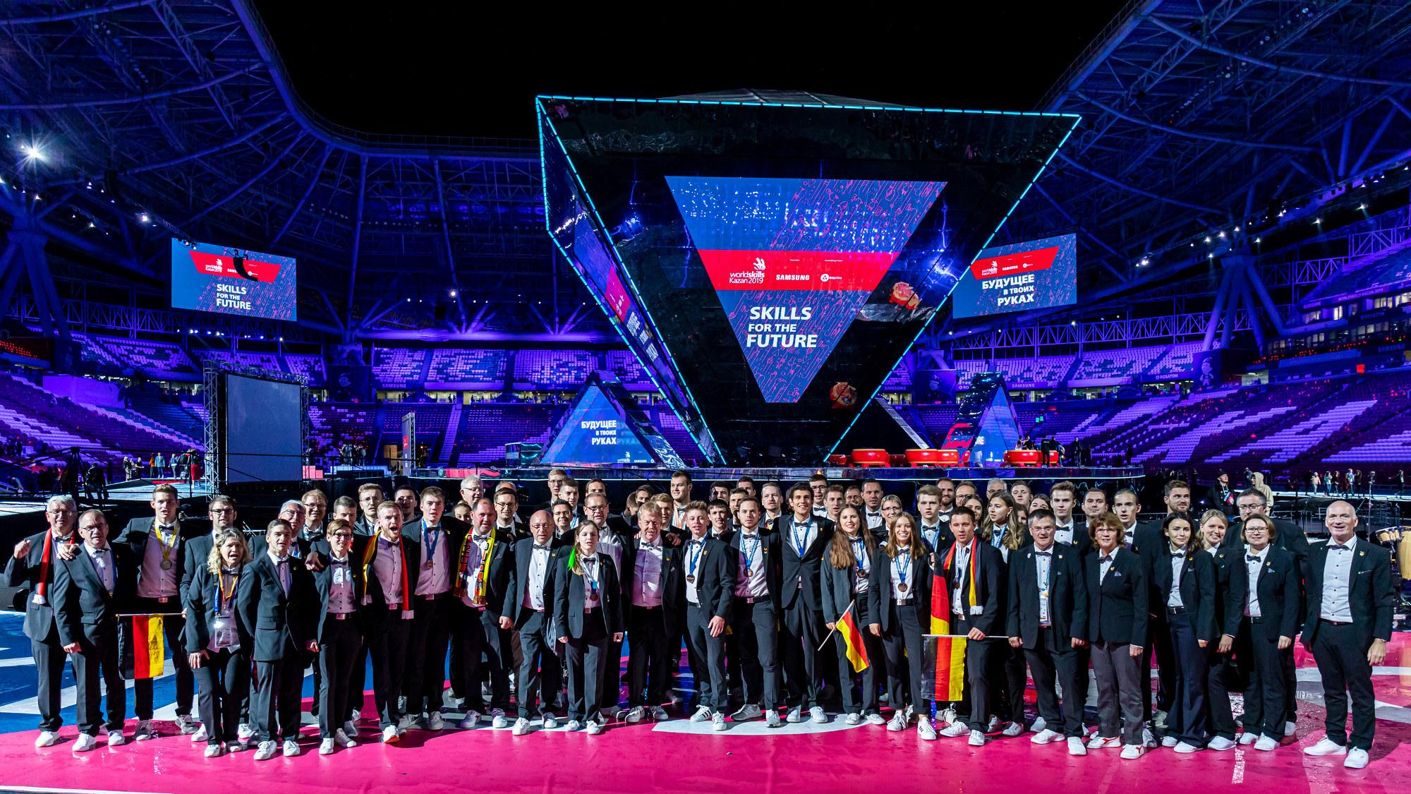 Deutschland punktet bei der WM der Berufe in Kasan