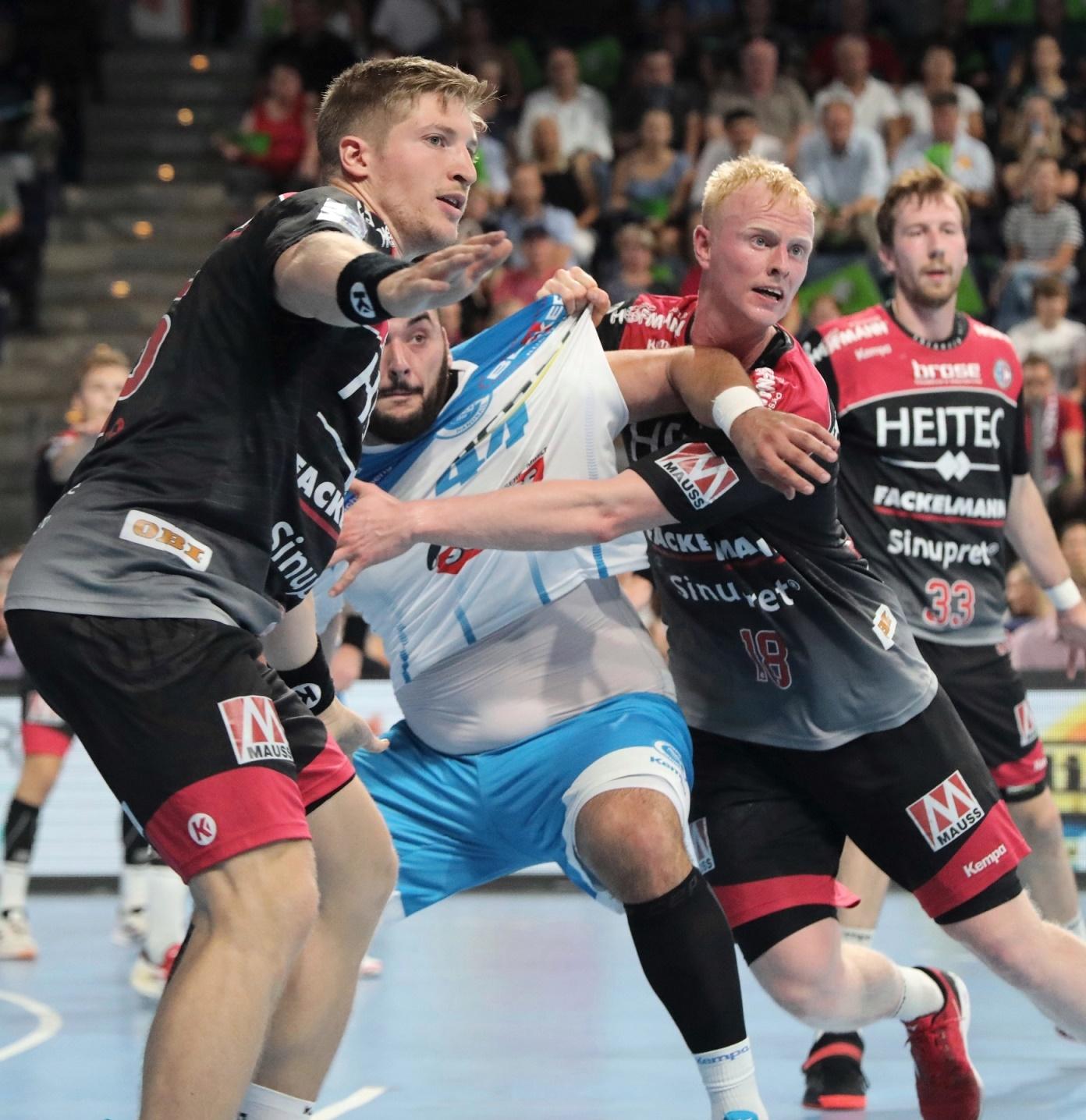 Der HC Erlangen feiert Heimsieg gegen Stuttgart