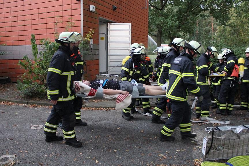 HanseWerk Natur probt den Ernstfall mit Feuerwehren