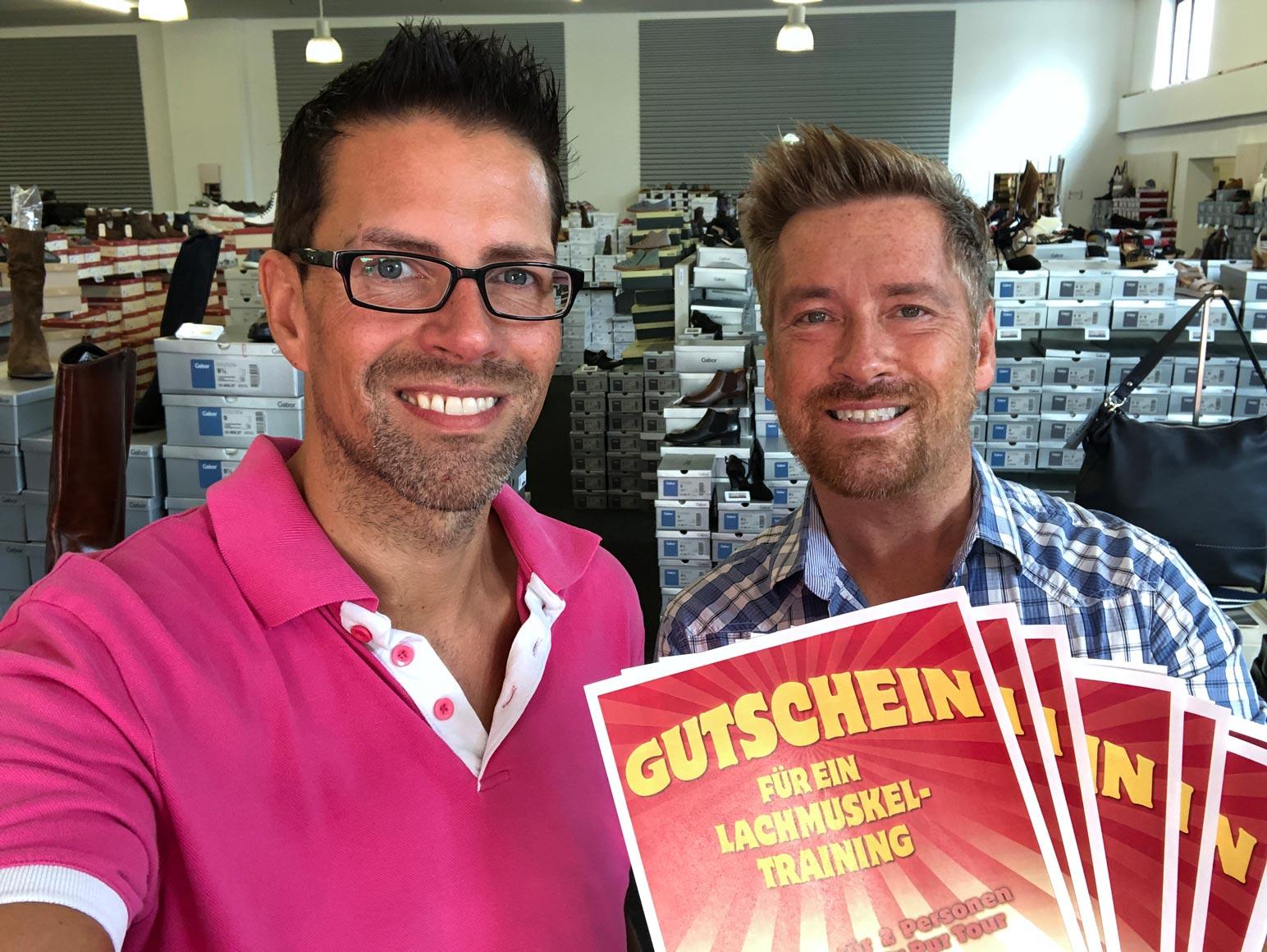 Comedy und Party! 10 x 2 Freikarten von schuhplus für Kiez-Tour